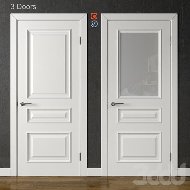 Двери Academy Piemonte White (часть 3)