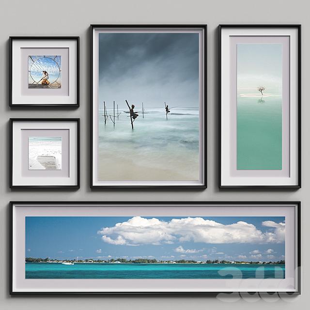 Nice Picture Frames Set 8