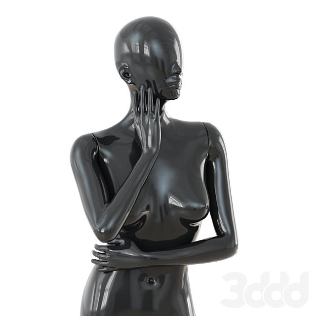 Female black mannequin 43