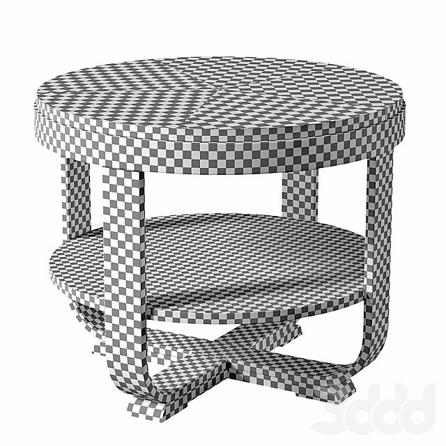 Austrian Biedermeier Style Art Deco Gueridon table