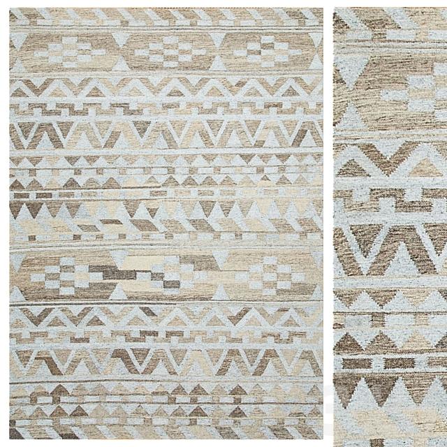 Mayam Handmade Flatweave Wool Rug