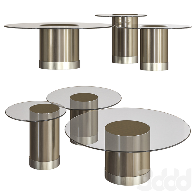 Tau Round Coffee Table by Reflex