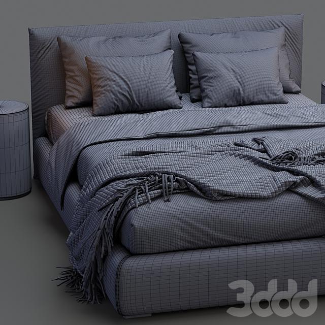 Meridiani Bed SCOTT