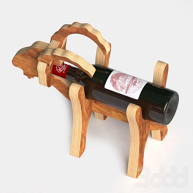 """Подставка для вина """"Козел"""""""