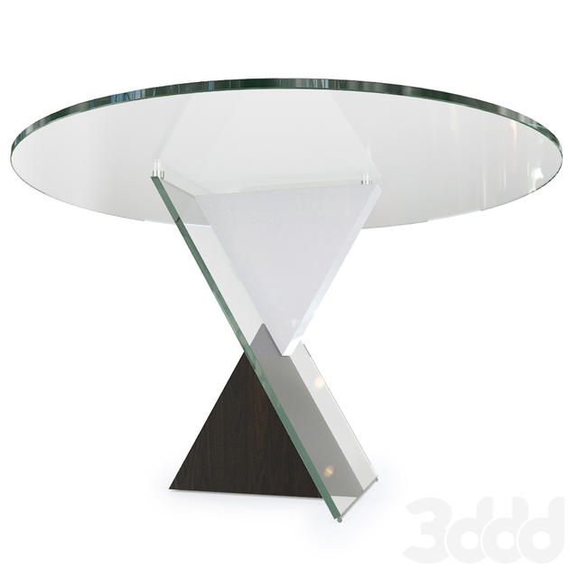 Стол Reflex Angelo DELTA 72/1 прозрачный