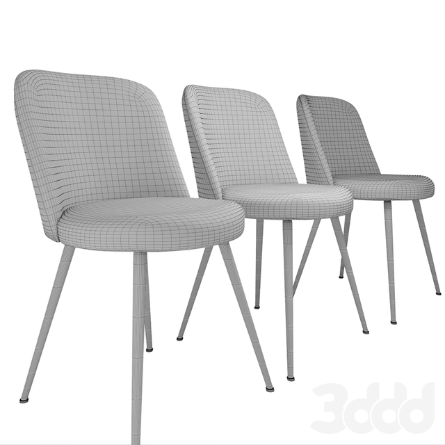West Elm Lila Upholstered Dining Chair
