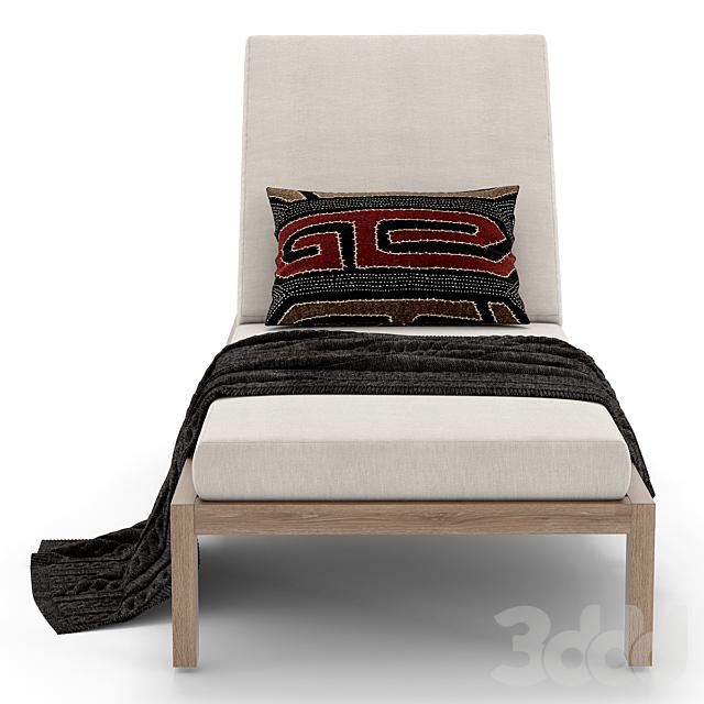 RH Outdoor Aegean chaise