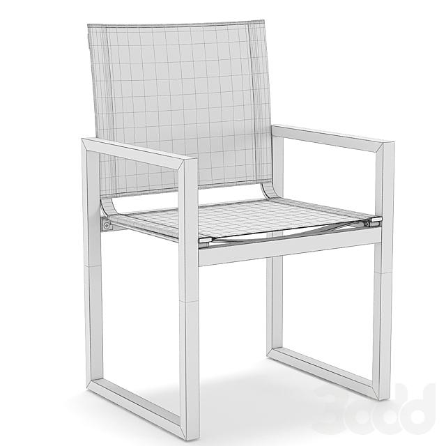 RH Outdoor Aegean round table-chair