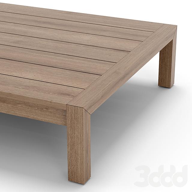 RH Outdoor Aegean coffee table