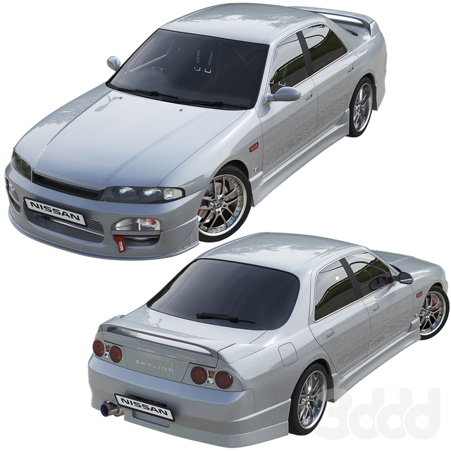 Nissan Skyline Hr33
