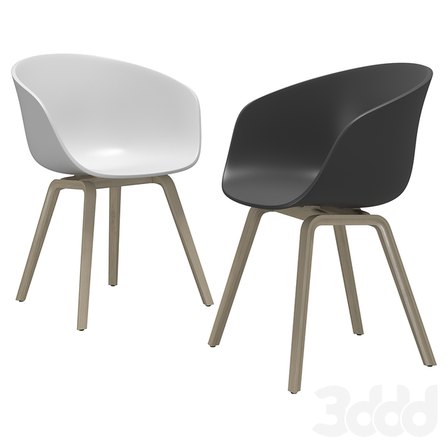 HAY Chair and Muuto Table