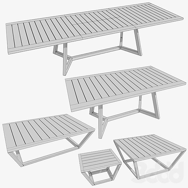 Коллекция деревянных столов