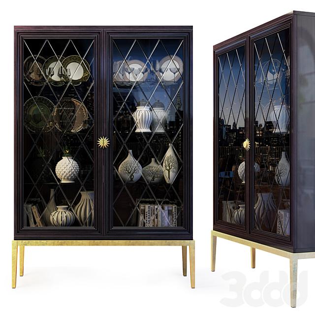Шкаф / витрина ар деко, Gatsby. Cabinet / showcase by Cavio Casa