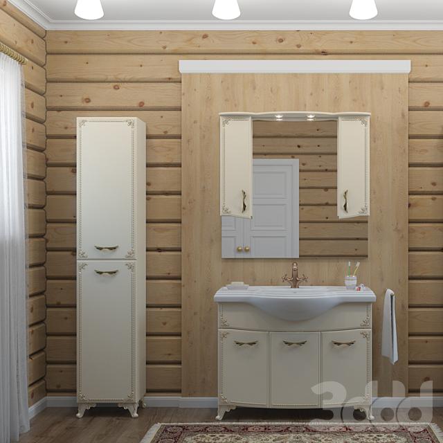 Мебель для ванной производства Какса-А
