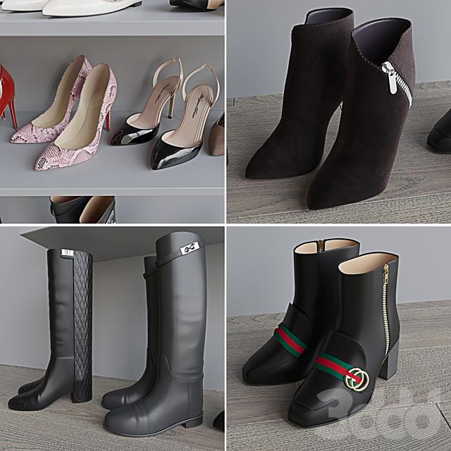 Набор женской обуви 1