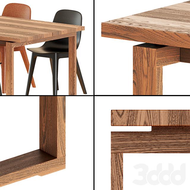 Ikea Mörbylånga Table& Odger Chairs