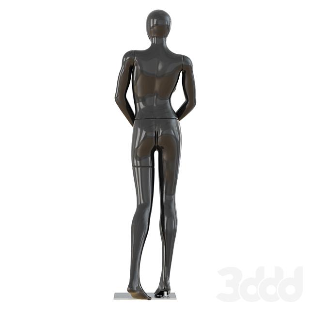 Female Black Mannequin 46