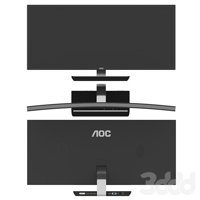 Aoc 3583 Fq Game Monitor