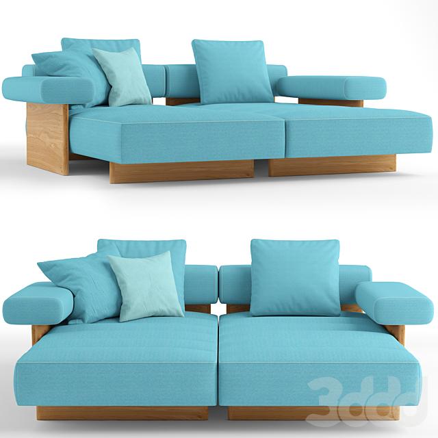 Cassina Sail Out lounge sofa