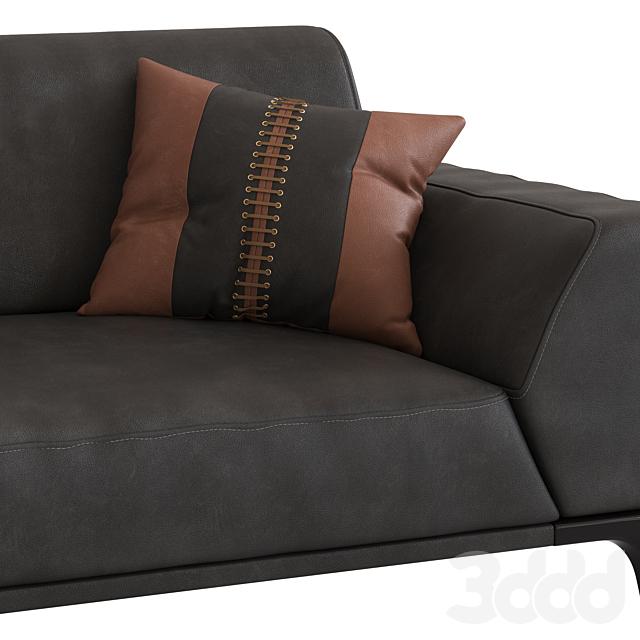 Roche Bobois Accord 3-Seater Sofa