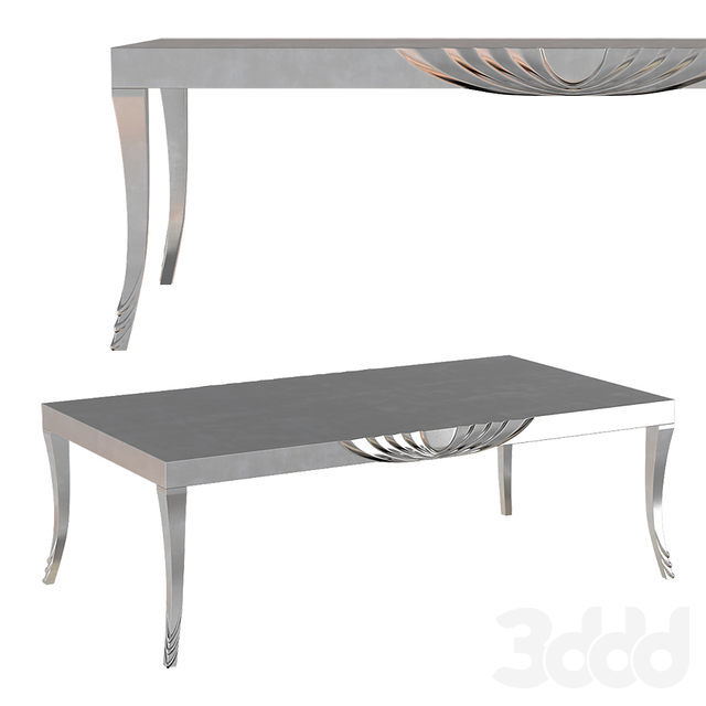Silver Angel Yacht Table