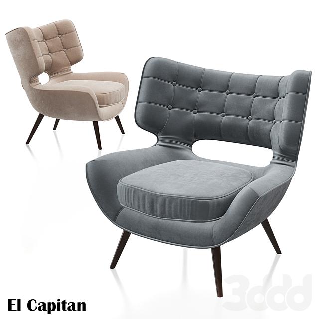 Armchair El Capitan - KARE Design