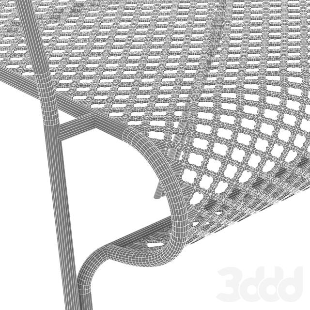 Calma TREBOL  Chair with armrests