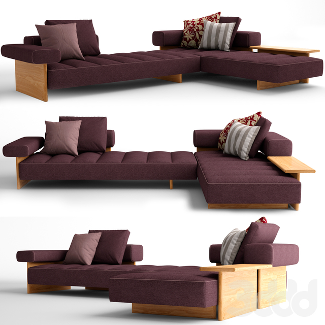 Cassina Sail Out corner sofa