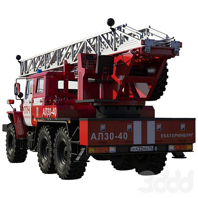 Автолестница АЛ30-40