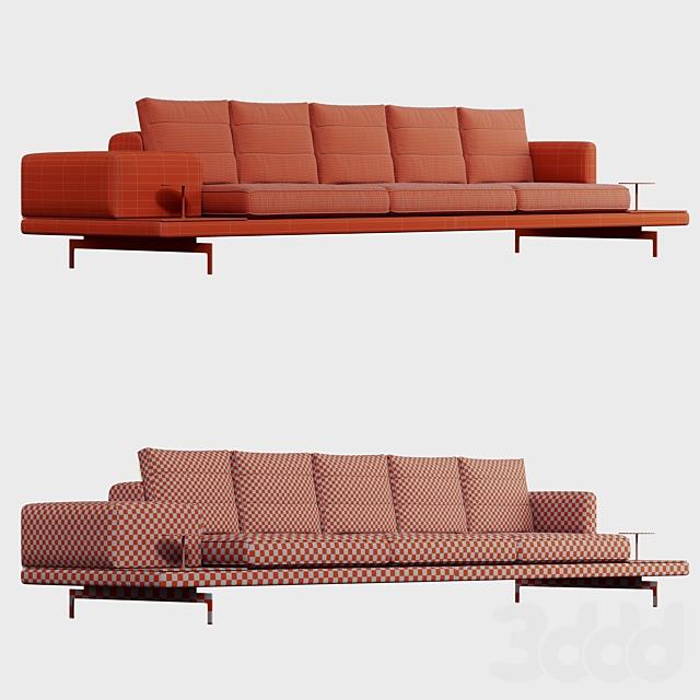 B & B italia Dock Sofa DA370S