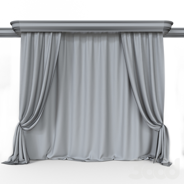 Curtain Black