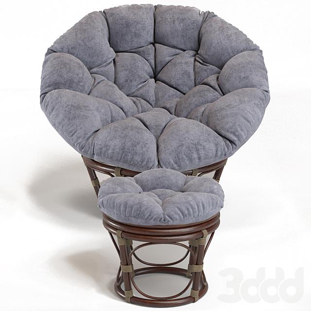 Teal Microsuede Papasan Chair Cushion