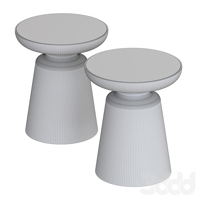 West Elm Pedestal coffee table