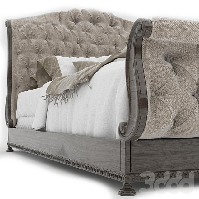 Bedroom Rhapsody Queen Tufted Bed