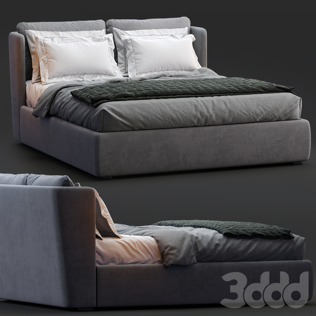 Meridiani Bed KIRA