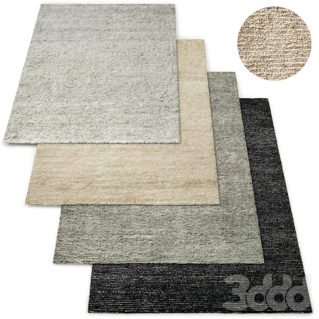 Tulo Hand-Knotted Wool Rug RH Collection
