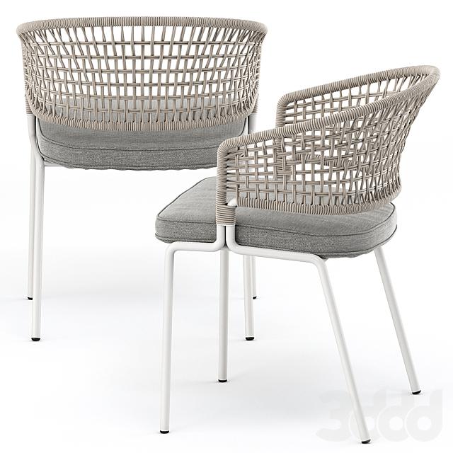 CTR armchair, CTR bar chair by Tribu