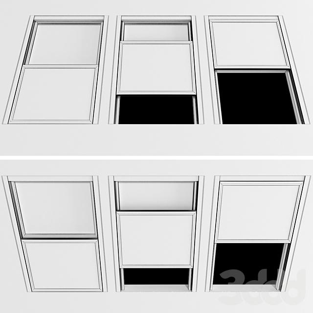 Раздвижные окна / Sliding Windows