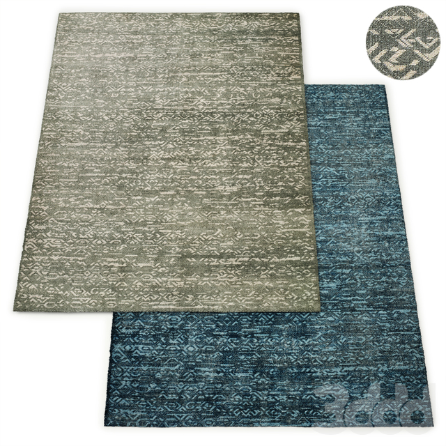 Albion Hand-Knotted Wool Rug RH Collection