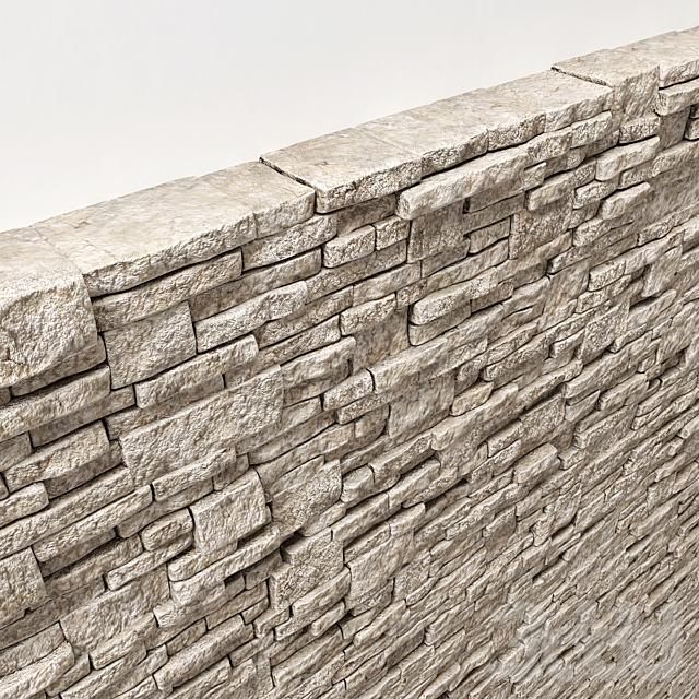 Brick stone wall block many n1