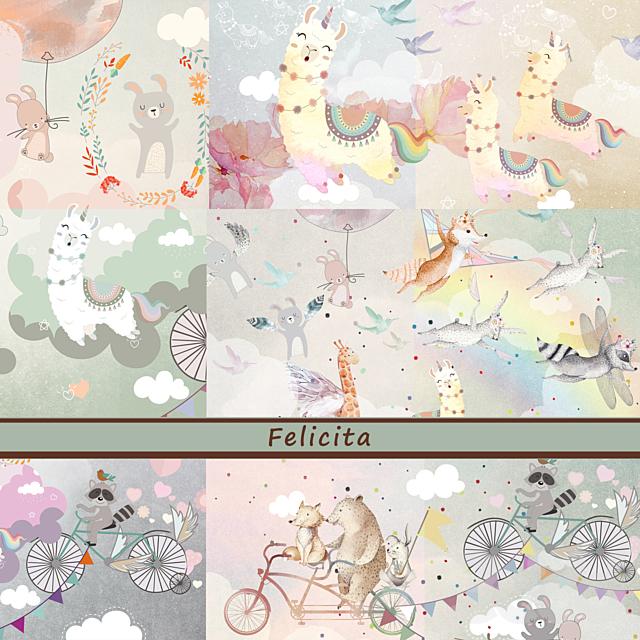 Дизайнерские обои Felicita