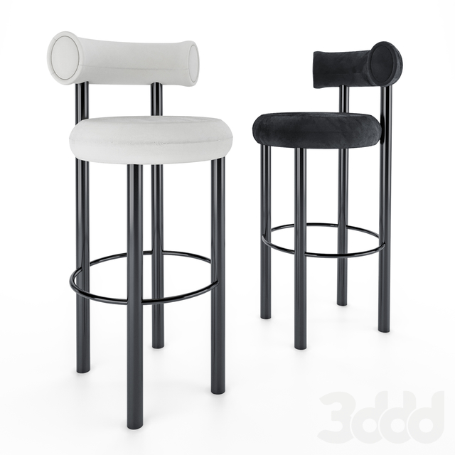 Tom Dixon FAT Bar stool & TUBE Hight table