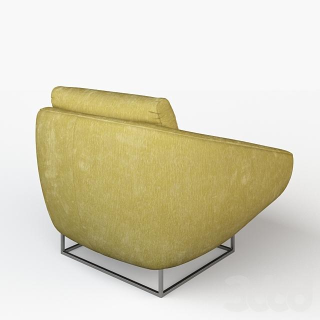 Кресло Milo Baughman Lounge Chair