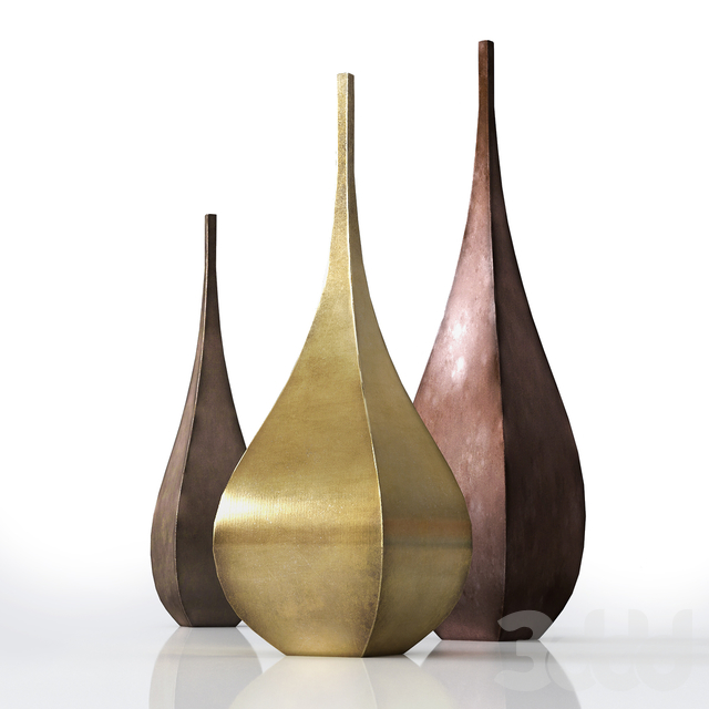 DeCastelli Shimla & Jaipur Vases set