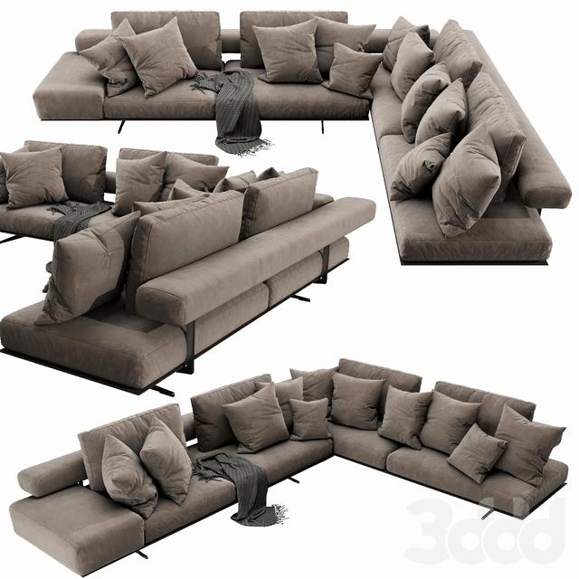 Flexform Wing Sectional