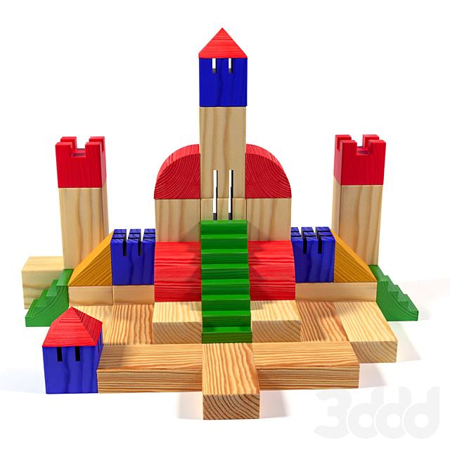 Набор детских кубиков