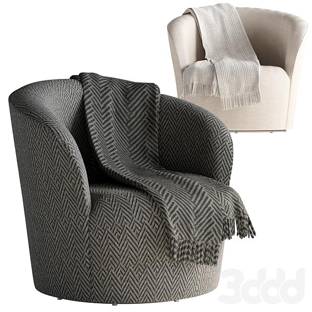 Infiniti Swivel Chair Crate and Barrel