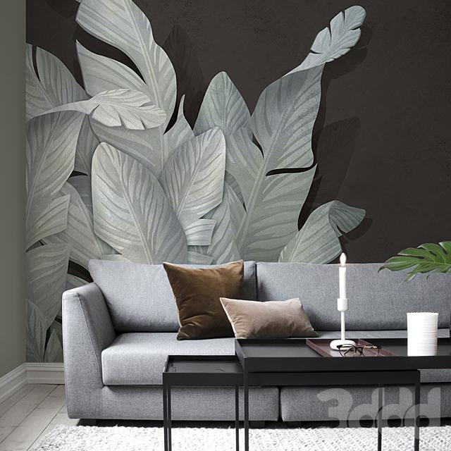 Creativille | Wallpapers | Banana leaves 4241