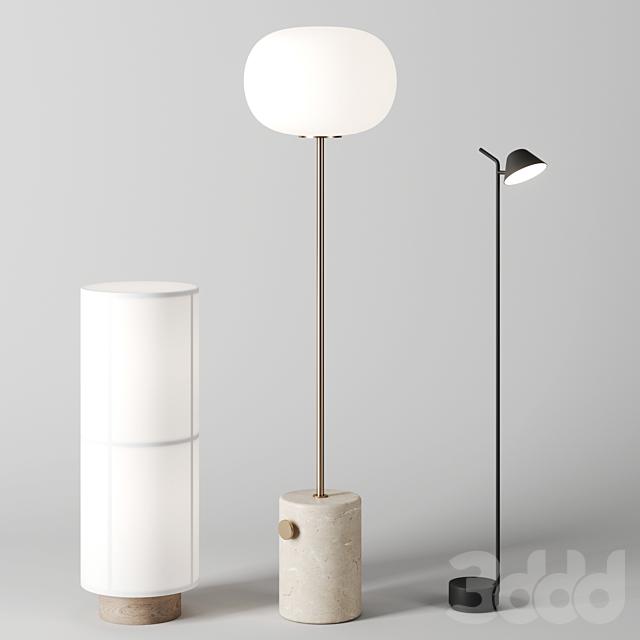 Floor lamps by Menu