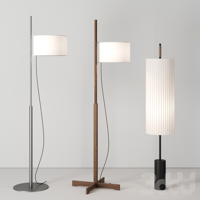 Floor lamps by Santa&Cole